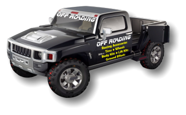OFF ROADING OFF ROADING Racing Accessories Tires • Wheels Body Kits • Lift Kits Ground Effects